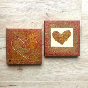 Soulmate Hearts Painting